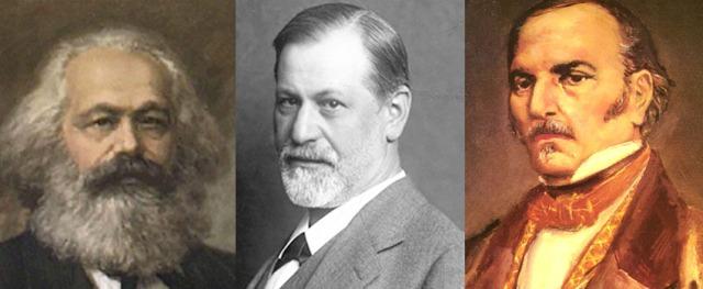 MArx-Freud-Kardec